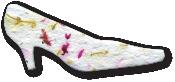 High heel shoe, OR-M-63, wildflower seeds