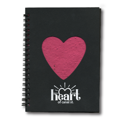 Die-Cut Journal – Heart