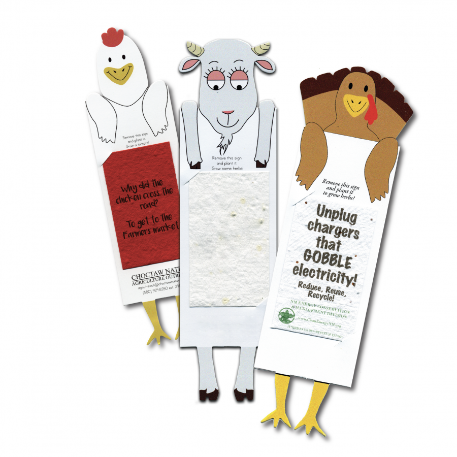 Barnyard Bookmarks