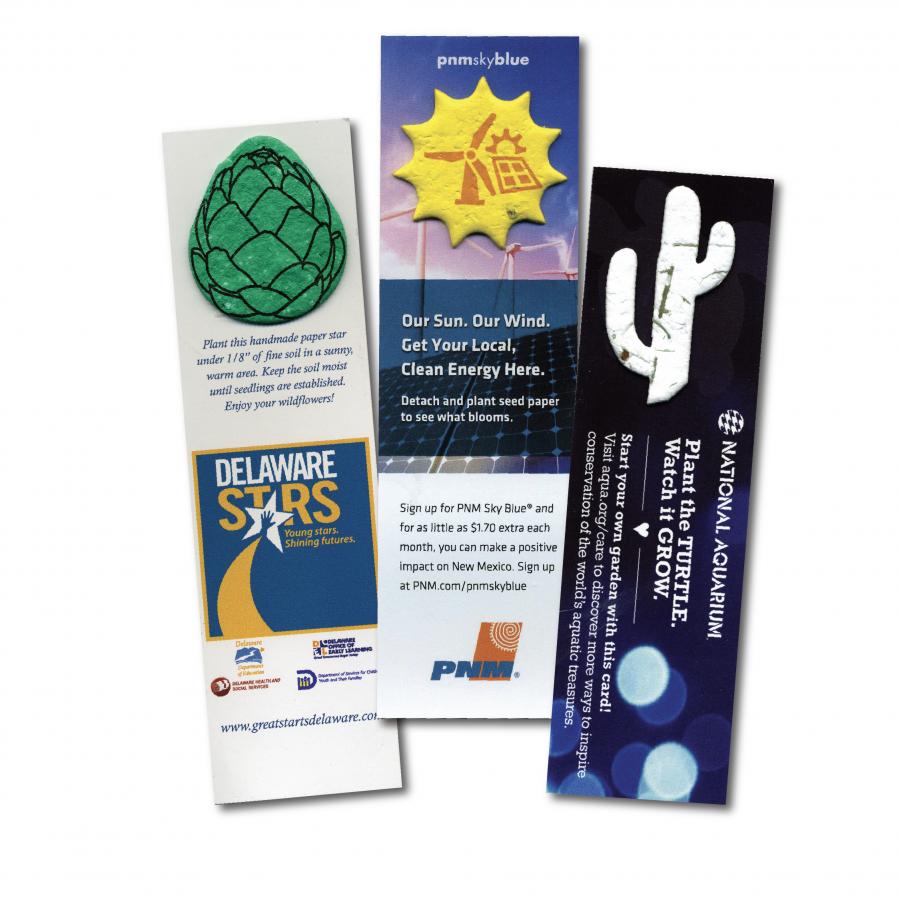 Premium Mini Shape Bookmarks